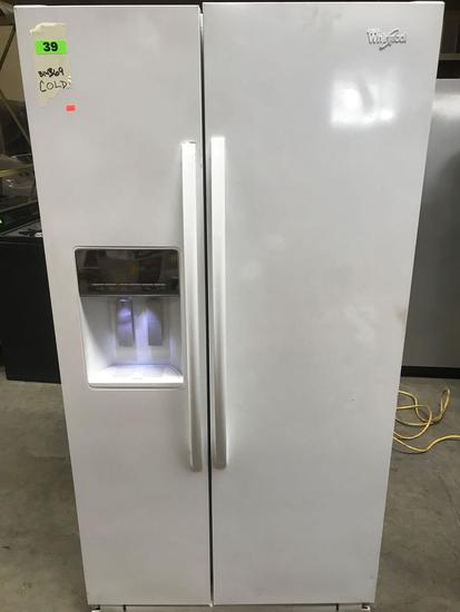 Whirlpool 25 cu. ft. Side by Side Refrigerator in White
