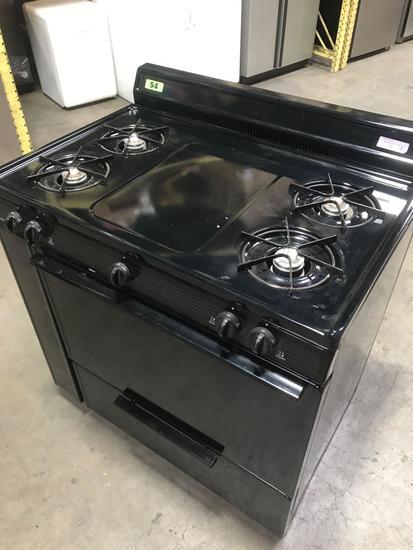 Premier 36in. 4-Burner Range with Oven and Broiler