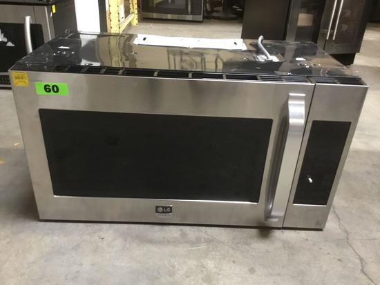 LG 1.7 cu. ft. Over The Range Convection Microwave Oven