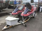(2) 1997 Kawasaki STX 1100 Jet Skis With Trailer***NOT CURRENTLY RUNNING***