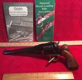 .44 Caliber 1858 New Model ARMY Cattleman's Black Powder Revolver in Original Box