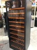Wine Enthusiast 300 Bottle Classic Single Zone Freestanding Wine Cellar