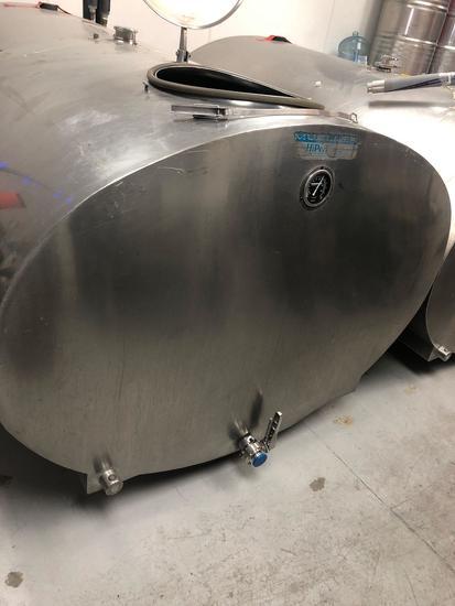 500 Gallon Dairy Tank