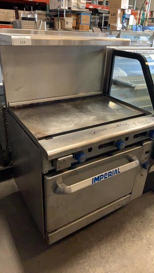 Flat Grill w/ Oven
