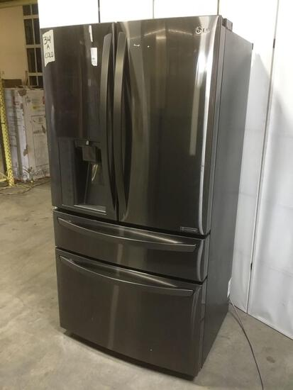 LG 23 cu. ft. French Door Counter Depth Refrigerator