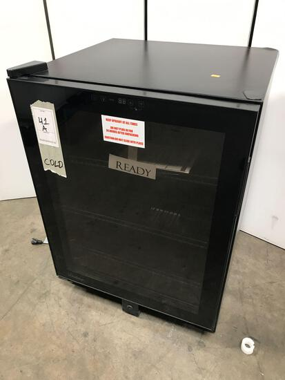 Amana - 35 Bottle Wine Cooler In Stainless Steel