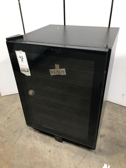 Vinotemp Butler Series 23.5 in. 120 Can Touch Screen Beverage Cooler