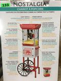 Nostalgia 2.5 oz. Kettle Popcorn Cart
