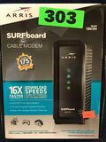 Arris SURFboard SB6183 Gigabit Ethernet Cable Modem