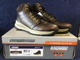 Khombu Mens Size 10 Boots in Brown