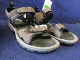 Khombu Mens Size 10 Sandals in Brown