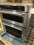KitchenAid - 30in Electric Convection Wall Oven with Built-In Microwave - Stainless steel