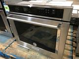 KitchenAid - 30in Built-In Single Electric Convection Wall Oven - Stainless steel