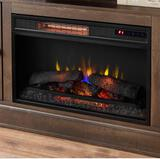 Home Decorators Collection 59in. Freestanding Media Console Electric Fireplace