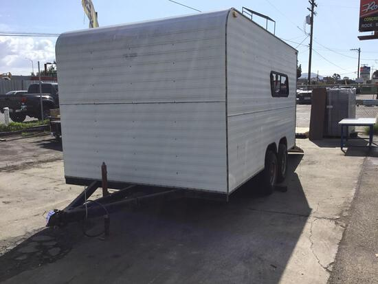 14 ft. Enclosed Trailer with Ramp and Side Access Door