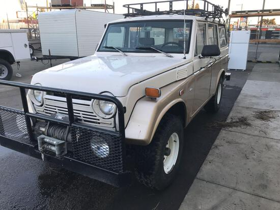 1973 Toyota Land Cruiser 4x4***VEHICLE WAS DRIVEN TO FISCHER LOT***