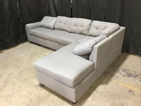 Coaster Grey 2 Piece Sectional Sofa