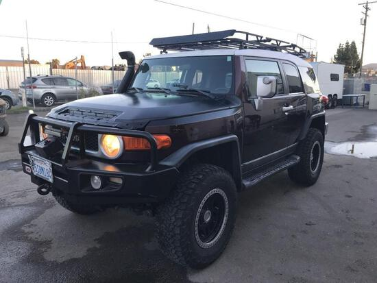 2007 Toyota FJ Cruiser 4x4***VEHICLE WAS DRIVEN TO FISCHER LOT***