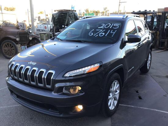 2015 Jeep Cherokee Latitude***TRUE MILEAGE UNKNOWN***