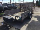 2004 10 ft. Big Tex Trailer with Ramp and Winch