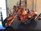 Custom Handmade Wooden Motorcycle