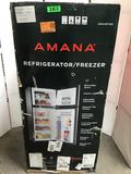 Amana 4.6 cu ft Compact Stainless Refrigerator