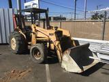 Massey Ferguson 30E Tractor with P.T.O. Operated Forklift Attachment*STARTS AND RUNS DOES NOT DRIVE*
