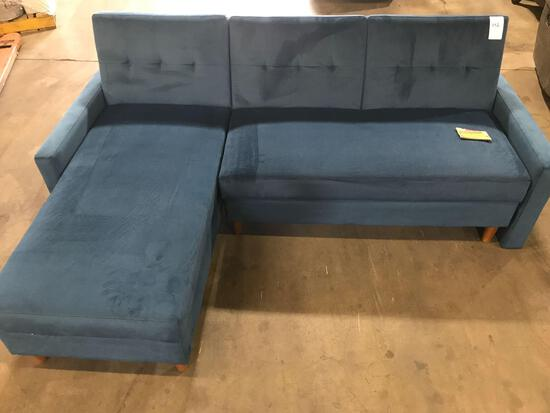 Hephzibah 84in. Reversible Sleeper Sectional Sofa
