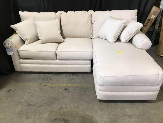 Haring Sectional Upholstery Color: Lizzy Linen