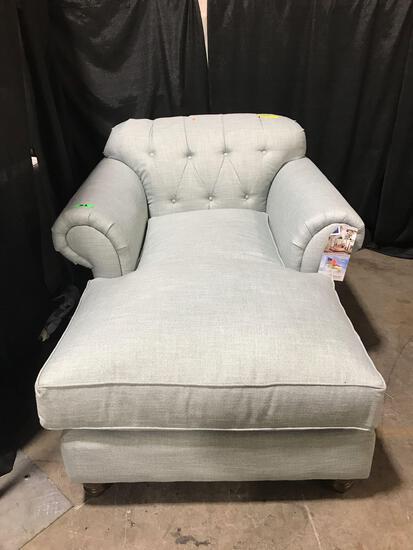 Kincaid Chaise Lounge Chair Upholstery Blue