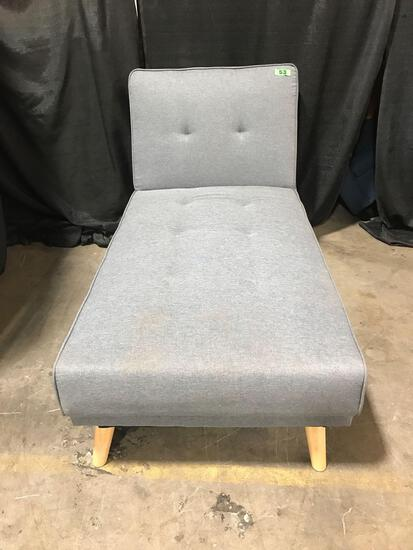Reclining Grey Love Seat