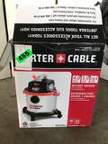 Porter Cable Stainless Steel 5g. Shop Vac