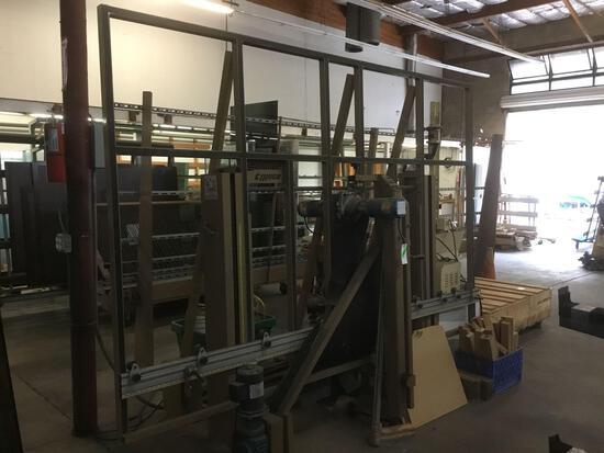 Somaca Vertical Glass Drilling Machine