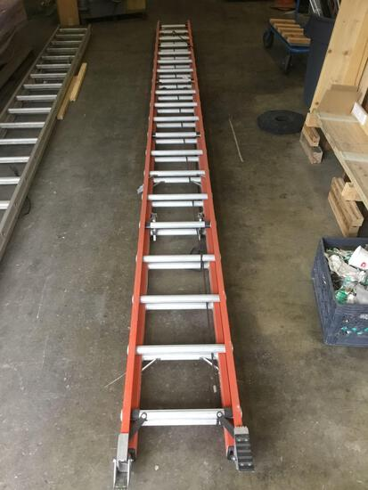 40ft. Fiberglass Werner Extension Ladder
