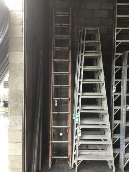 24ft. Fiberglass Werner Extension Ladder