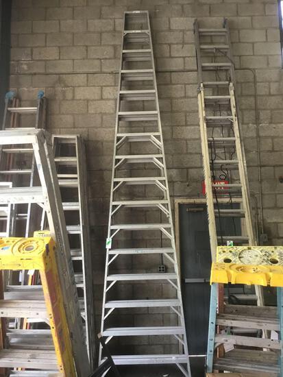 16ft. Aluminum Werner ~A~ Frame Ladder