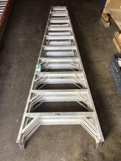 10ft. Aluminum Werner ~A~ Frame Ladder