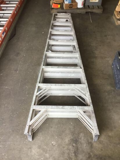 8ft. Aluminum Werner ~A~ Frame Ladder