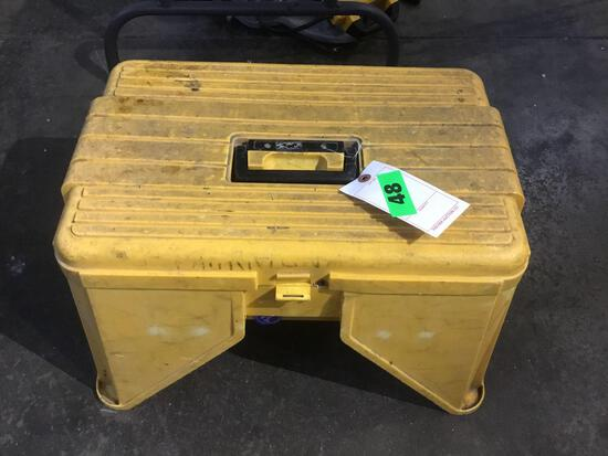 Small Step Stool With Storage Underneath