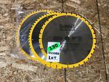 Lot of (5) Unused 12in DeWalt Construction Metal Blades