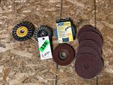 Lot of Abrasive Wheels