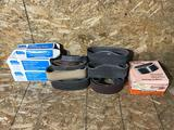 Lot of Assorted Glass Grinding Belts