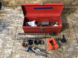 Tool Box with Drill Bits