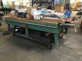 Rolling Heavy Duty Wood Work Bench