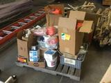 Pallet Lot of Assorted Door Parts and Hardware