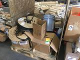 Pallet Lot of Assorted Pushing Vinyl and Shims
