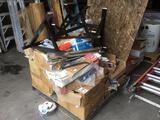 Pallet Lot of Assorted Door Parts
