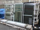 Lot of Assorted Glass Doors