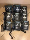 Lot of (18) AVAYA VOIP Deskphones
