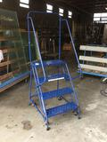 3ft Louisville 4 Step Rolling Safety Ladder